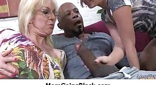 Watching my mom going black amazing interracial porn 31