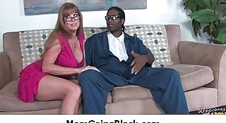 Milf fucked hard by black monster dick 18