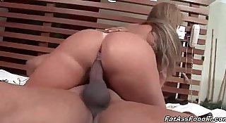 Latina MILF rides her man