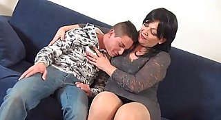 Young man horny