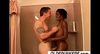 Cat is a cute black MILF who loves to fuck lucky white guys