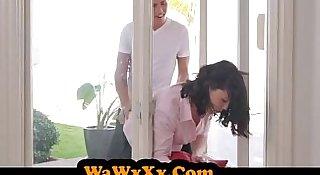 WaWxXx.Com - MILF Stuck & Fucked By Both Stepsons