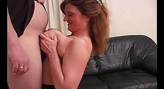 Mature Titfuck For BBW Amateur