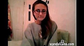Teen masturbation - www.scandalcams.com