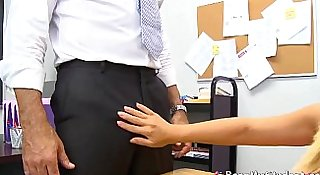 Busty Student Britney Young Spreads Her Wet Vagina For School Teacher