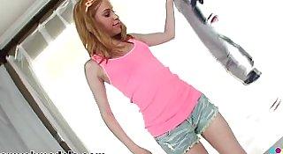 Teen Mae Olson POV Blowjob